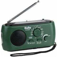 KA332W Weather Radio green