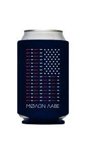 Molon Labe American Flag Bullet Koozie