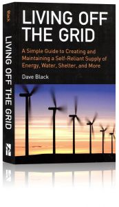 Front cover of Living Off the Grid book