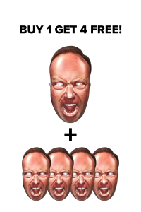 Buy One Alex Jones Mask Get 4 Free