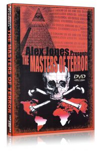 Front cover of Masters of Terror by Alex Jones