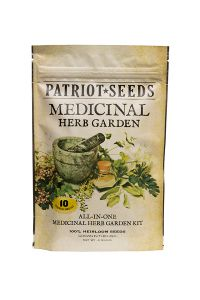 Patriot Seeds Medicinal Herb Garden Seed Kit front view