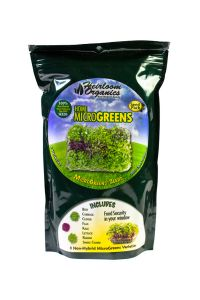 Heirloom Organics MicroGreens Seed Pack