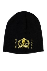 Front view of Molon Labe Knit Beanie