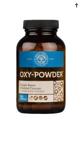 Oxy-Powder Front Of Bottle With Info Cross