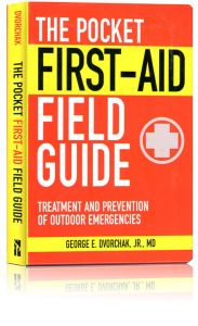 Front cover of the Pocket First-Aid Field Guide book
