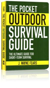 Front cover of the Pocket Outdoor Survival Guide book