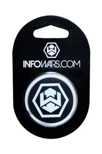 Infowars Phone Stand - Hexagon Logo