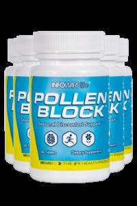 Pollen Block: 5 Pack