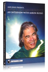 Front cover of Reflections and Warnings with Aaron Russo DVD