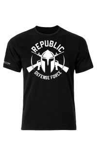 Front view of Republic Defense Force T-Shirt