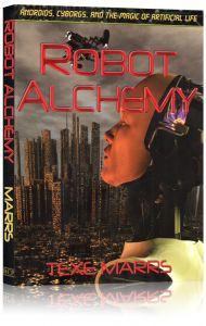 Front cover of Robot Alchemy book