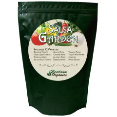 Bag of Heirloom Organics Salsa Garden Pack Seeds