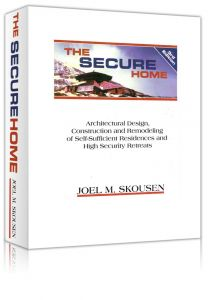 Front cover of The Secure Home by Joel Skousen book