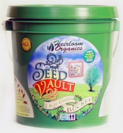 Heirloom Organics Seed Vault Bucket