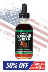 Survival Shield X-3 2 oz. Bottle