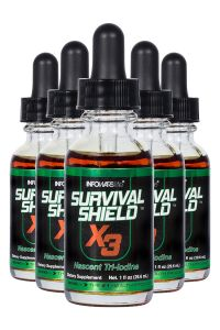 Survival Shield X-3 1 oz. Bottle 5-Pack
