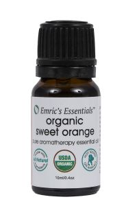 Organic Sweet Orange Essential Oil By Emric's Essentials