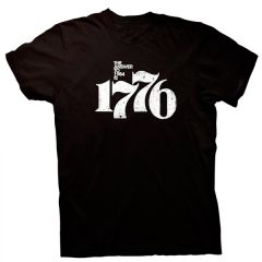 Front view of The Answer to 1984 is 1776 T-Shirt