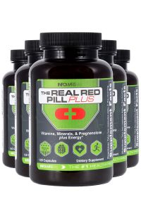 5 Bottle Of Infowars Real Red Pill Plus