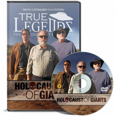 Front cover of True Legends - Holocaust of Giants DVD