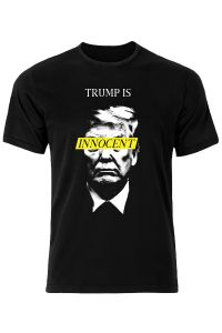 Trump Is Innocent Blindfolded Justice