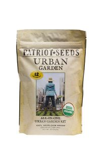 Organic Urban Garden Heirloom Seeds front view
