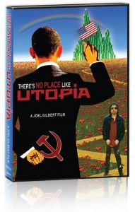 Front cover of There's No Place Like Utopia DVD
