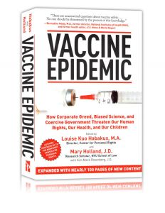 Front cover of Vaccine Epidemic by Louise Habakus