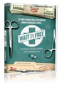 Front cover of Wait Till It's Free DVD