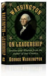 Front cover of Washington on Leadership book