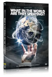 Front cover of What In the World Are They Spraying DVD