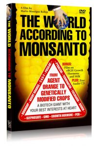 Front cover of The World According To Monsanto