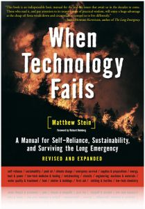 Front cover of When Technology Fails by Matthew Stein