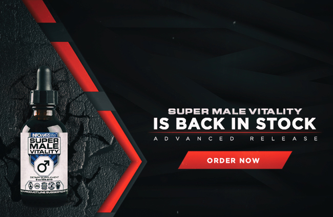 Super Male Vitality Is Back In Stock