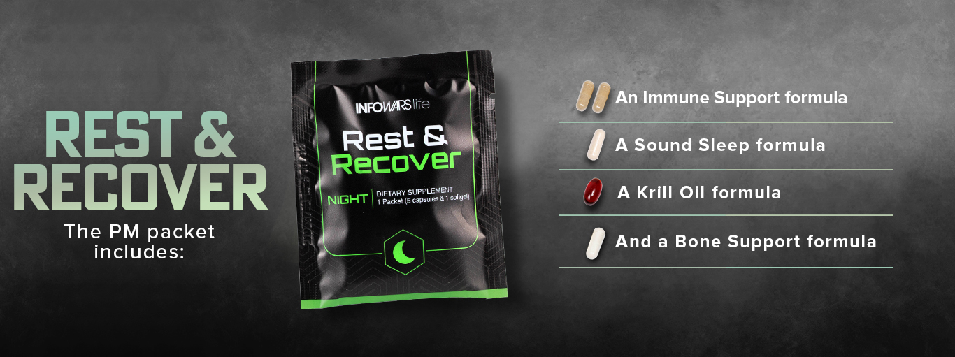 Rest And Recover Banner