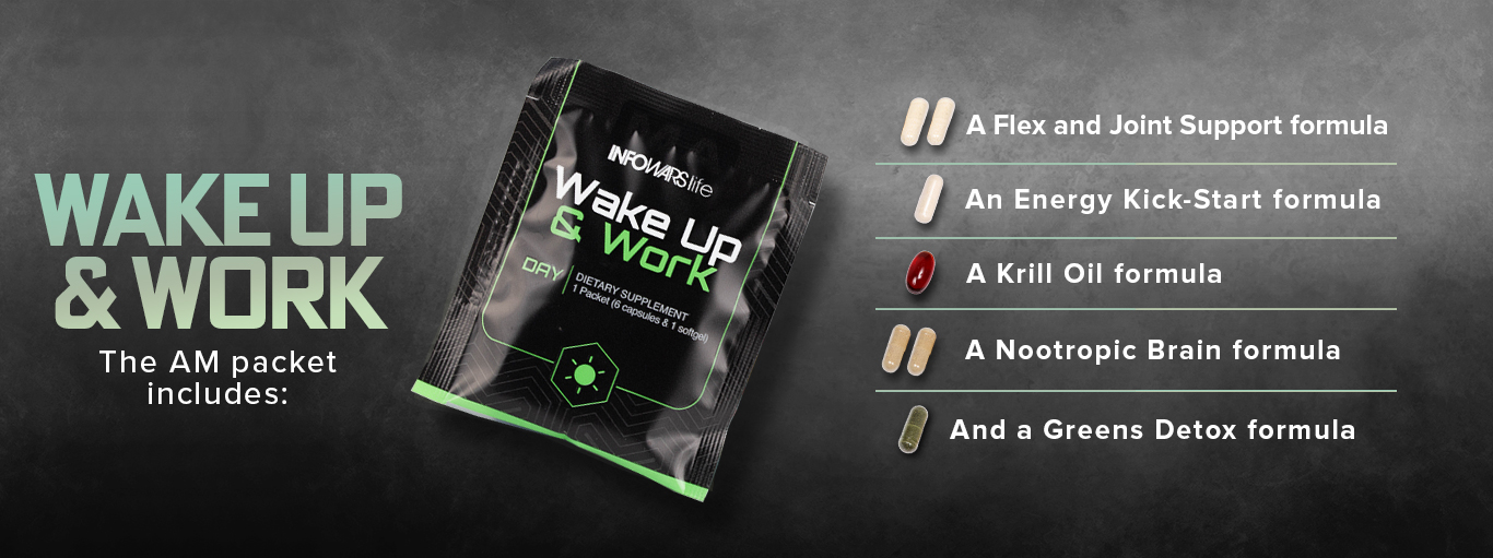 Wake Up And Work Banner