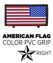 American Flag Color Stars On Right