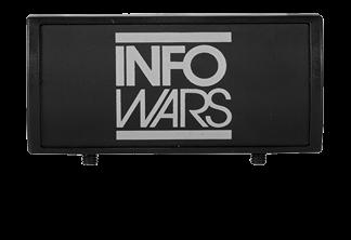 Infowars Logo Large Laser Engraved Gun Rail