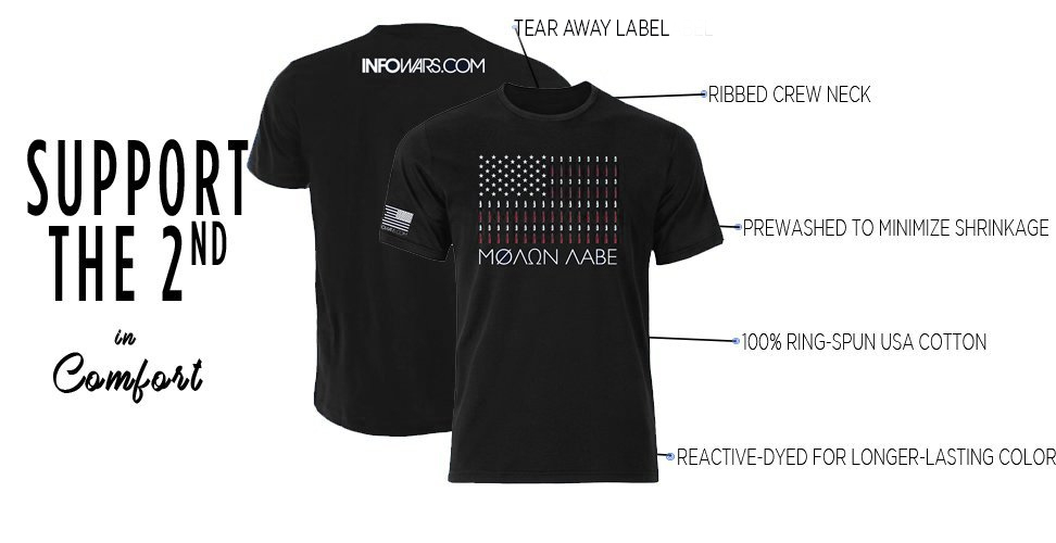Get The New Molon Labe Shirt Today
