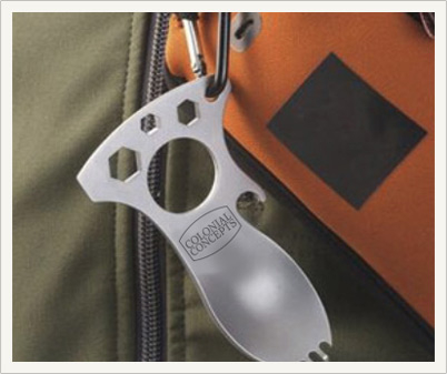 Use The Patriot Grub-N-Tool as a carabiner
