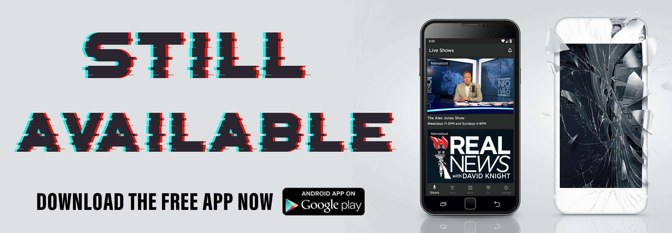 Infowars App On The Google Play Store!