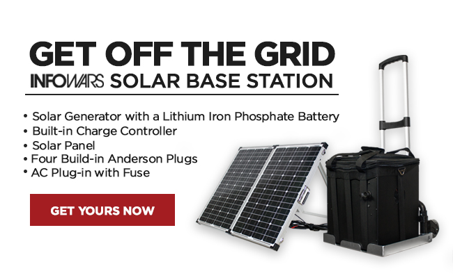 Infowars Solar Base Station